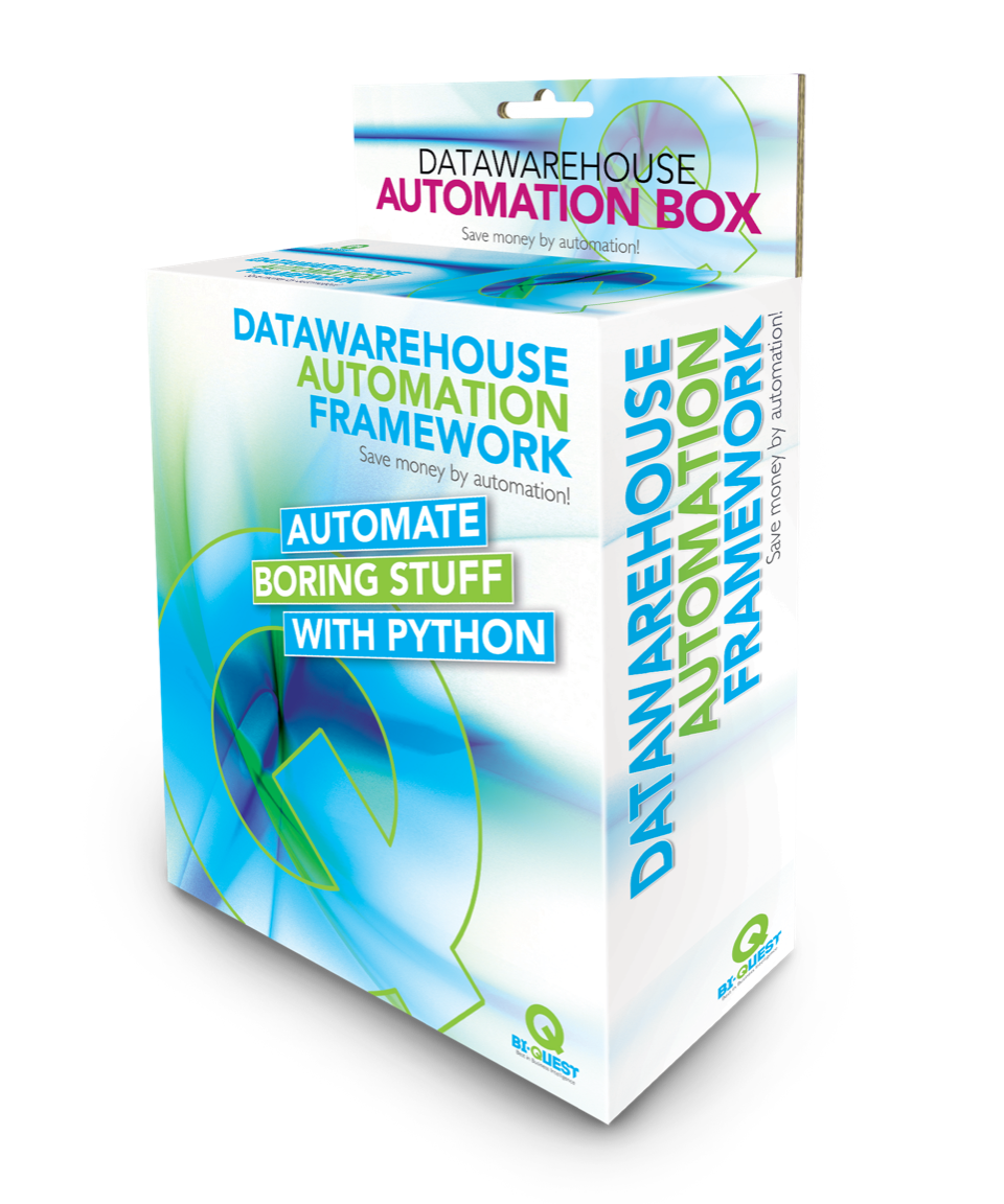 Datawarehouse automation workshop